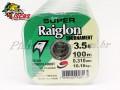 Linha Super Raiglon Verde Monofilamento 0,31 mm com 100 Metros