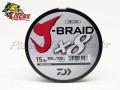 Linha Daiwa J-Braid 8 X Multifilamento 0,19mm com 300 Metros